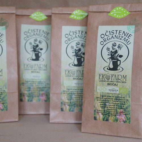 Slovenské eko čaje Ekofarm z Pružiny nájdete v predajni Karpatský gazda.