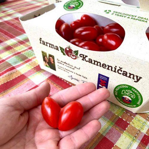 Slovenské sladké rajčiny z Kameničian nájdete v predajni Karpatský gazda.