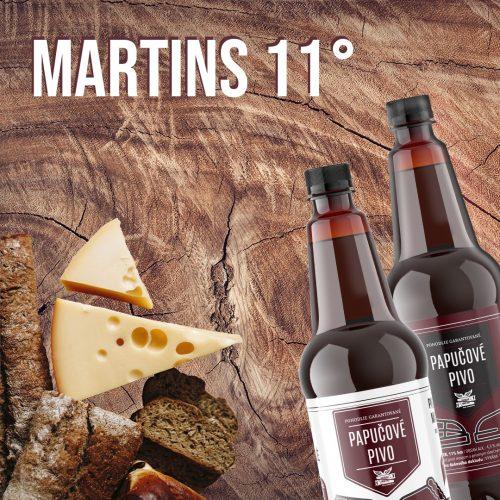 Slovenské pivá značky Martins nájdete v predajni Karpatský gazda.