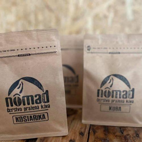 Slovenskú kávu značky Nômad nájdete v predajni Karpatský gazda.