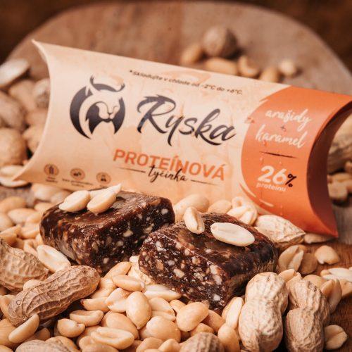 Slovenskú proteínovú tyčinku Ryska nájdete v predajni Karpatský gazda.